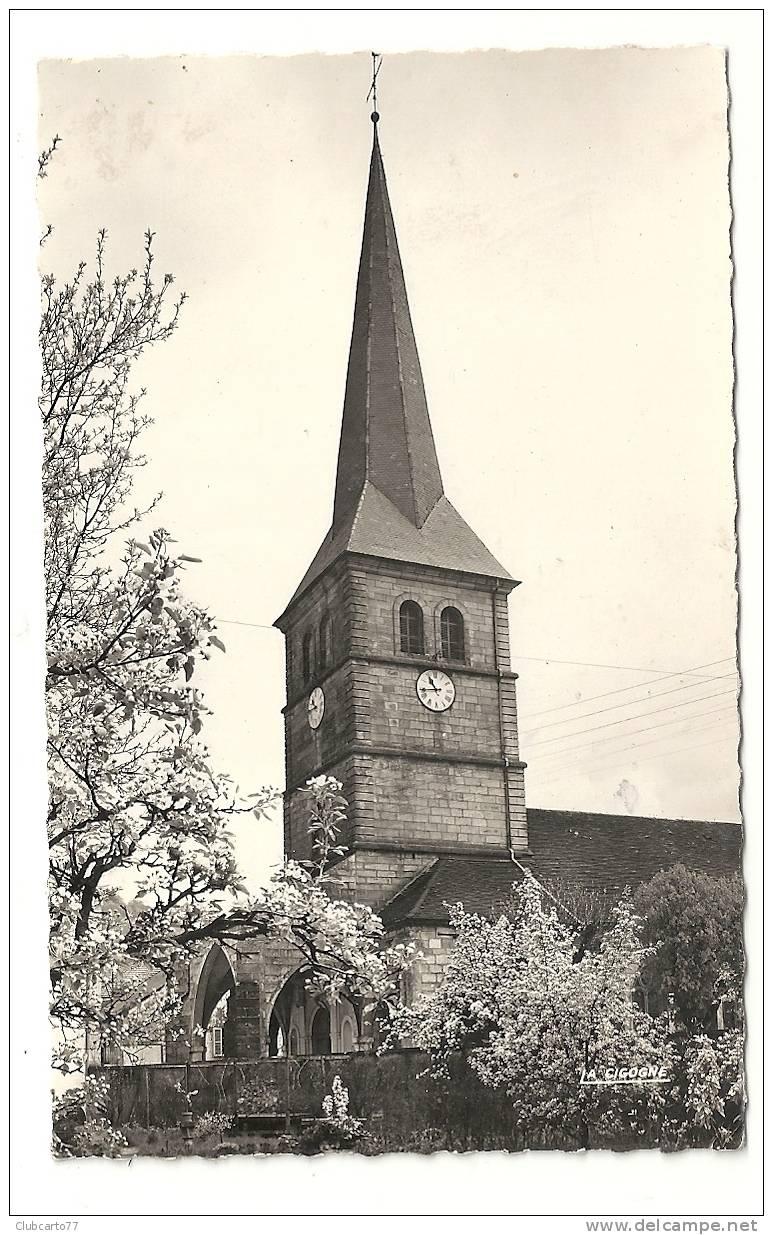 Val-d'Ajol (88) :  L'église Env 1955. - Frankrijk