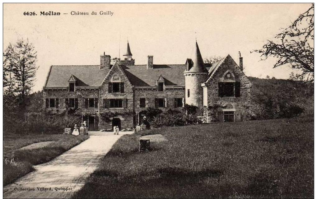 Carte Postale  MOELAN  Chateau De Guilly - Moëlan-sur-Mer