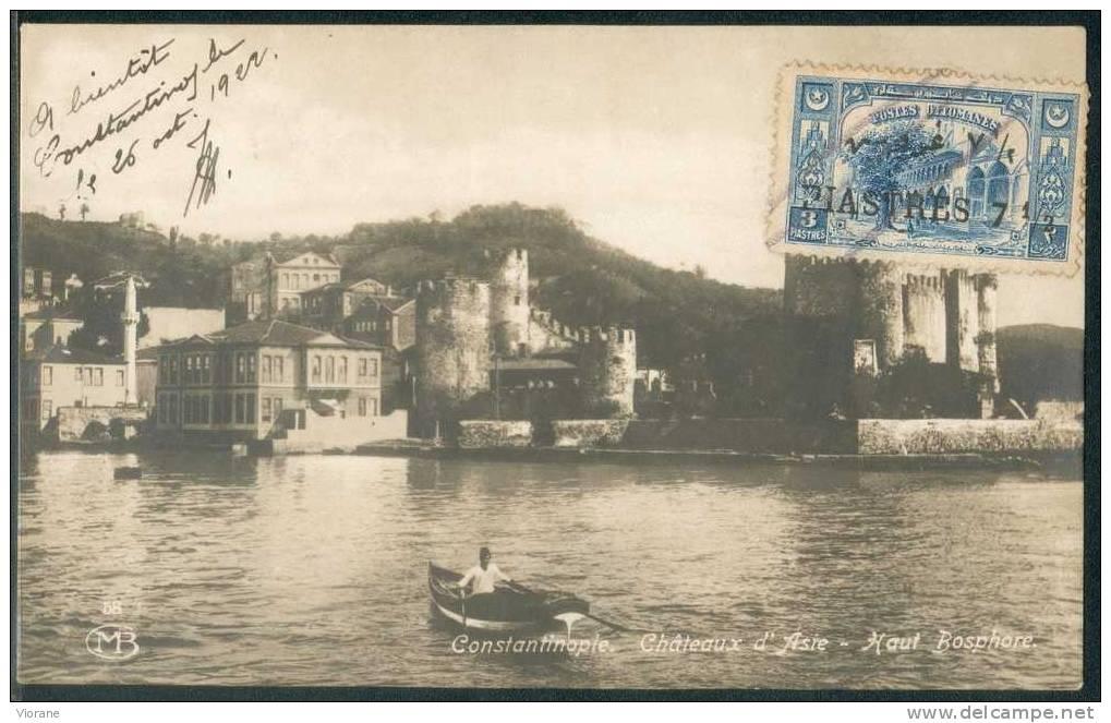 Constantinople -  Châteaux D´Asie - Haut   Bosphore - Turkey