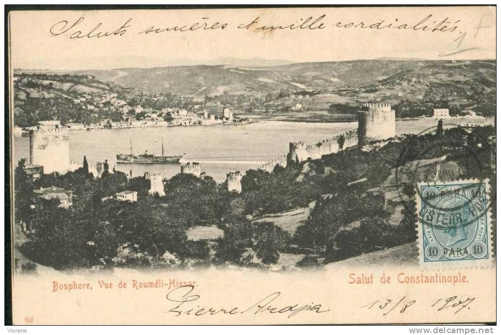 Bosphore, Vue De Moureli - Hissar - Salut De Constantinople - Turkey