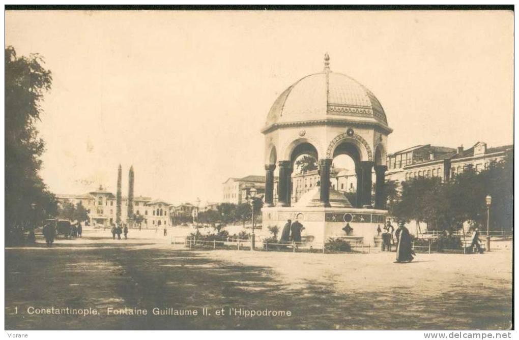 Constantinople - Fontaine Guillaume II Et L'hippodrome - Turkey
