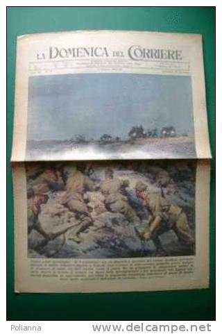 DC130# COPERTINA-LA DOMENICA DEL CORRIERE 1942/Ill. BELTRAME/DIFESA CARABINIERI ITALIANI/INFERMIERE CROCE ROSSA In LIBIA - Riviste & Giornali