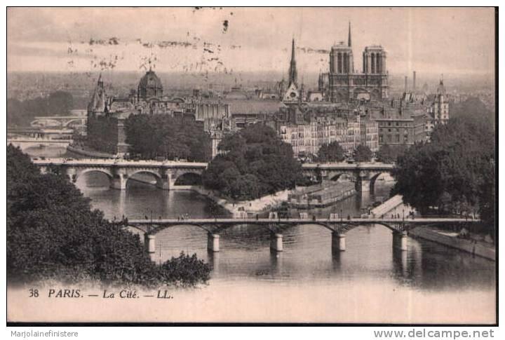 CPA PARIS. - La Cité. - LL N° 38 - District 01