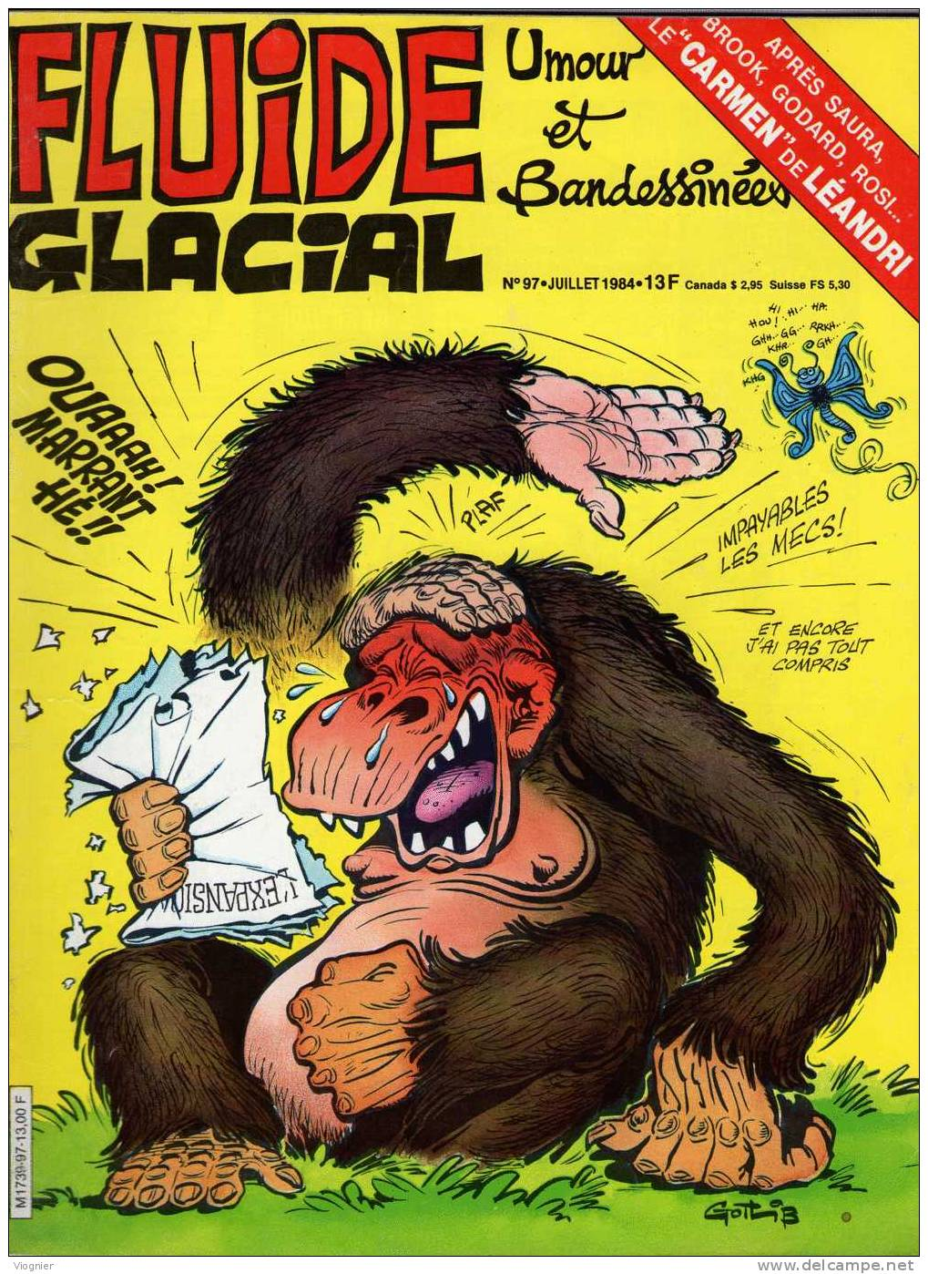 FLUIDE GLACIAL   N° 97       Juin   1984 - Fluide Glacial