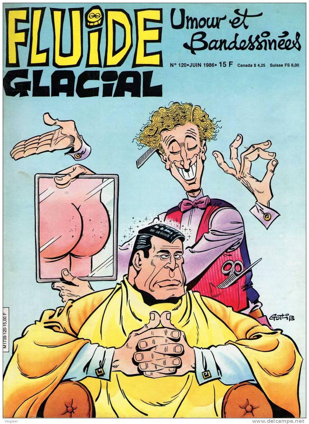 FLUIDE GLACIAL   N° 120     Mai  1986 - Fluide Glacial