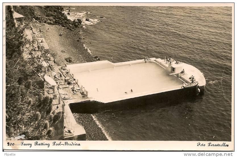 Ltel_22 - Portugal - Madère - Madeira - 200 Savoy Batting Pool - Madeira
