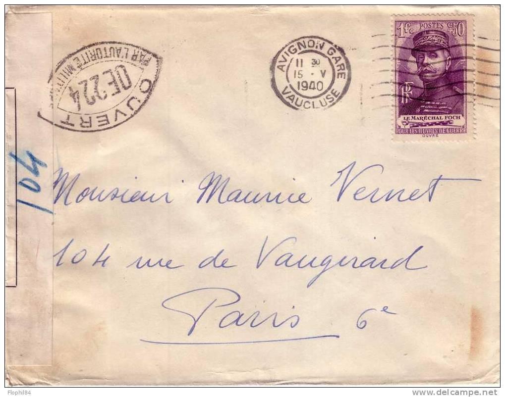 Les censures françaises de la 2° période (Armistice) 257_001