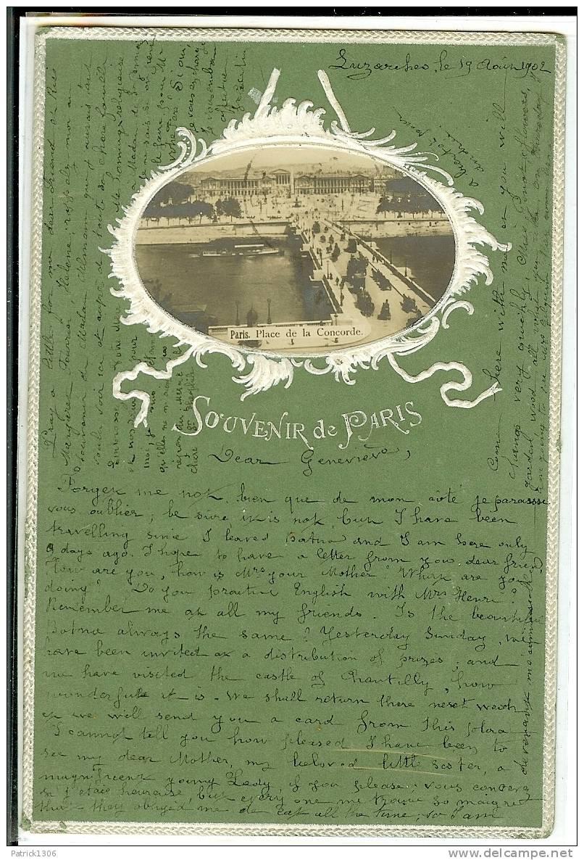 CPA  Souvenir De Paris 0161 - Distretto: 08