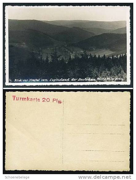 A461) Thüringen Ansichtskarte Ilmtal Luginsland Ungebraucht - Deutschland
