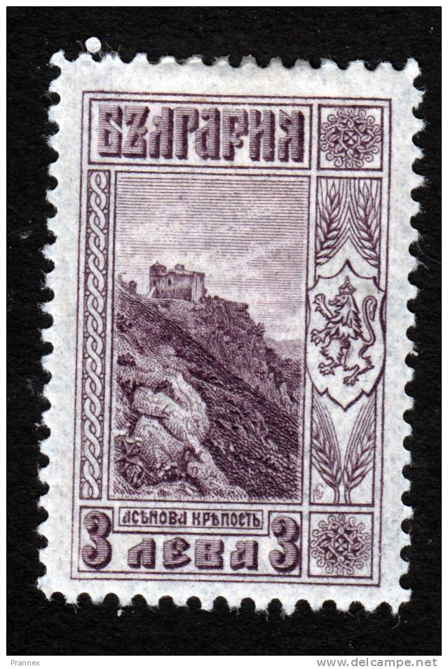 Bulgaria, Scott 168, Mint Hinged, Tsar Assen´s Tower, Issued 1921 - 1909-45 Kingdom