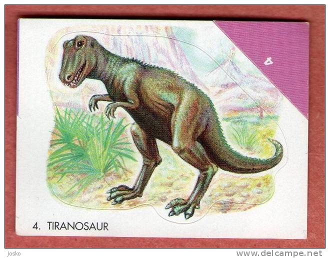 DINOSAURUS ( Croatia Sticker ) Dinosaur Dinasour Dinosaurier Dinosauro Dinosaure Dinos Dino - Croatie Autocollant - Unclassified