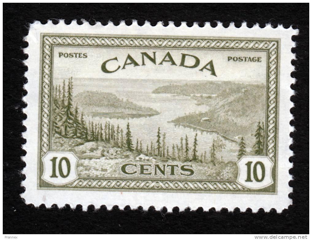 Canada, Scott 269, Mint Hinged, Great Bear Lake, Mackenzie, Issued 1946 - 1937-1952 Reign Of George VI