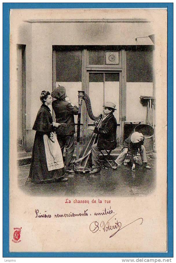 75 - PETITS  METIERS --  KUNZLI - La Chanson De La Rue - Petits Métiers à Paris