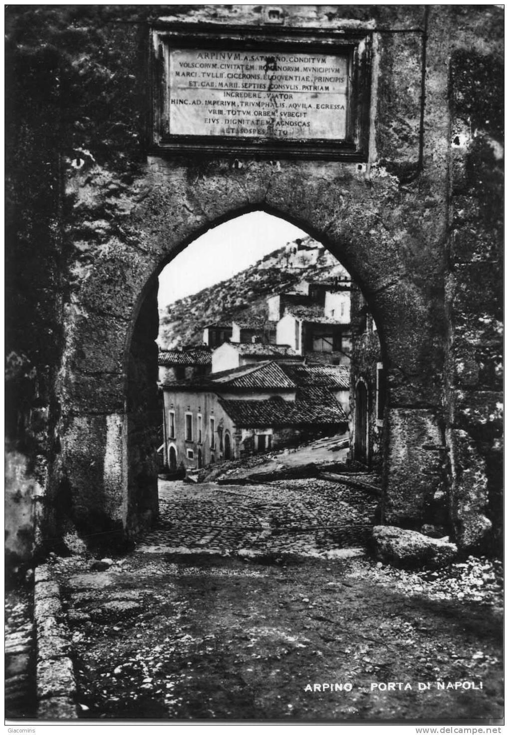 Arpino-Porta Di Napoli-viaggiata- - Italia