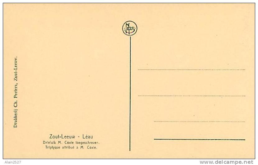 ZOUT-LEEUW - Drieluik M. Coxie Toegeschreven (Ch. Peeters) - Zoutleeuw