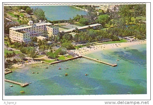 Ref 27 :  Cpsm Bahamas 1969 Nassau Montagu Beach Hotel On East Bay Street - Bahamas