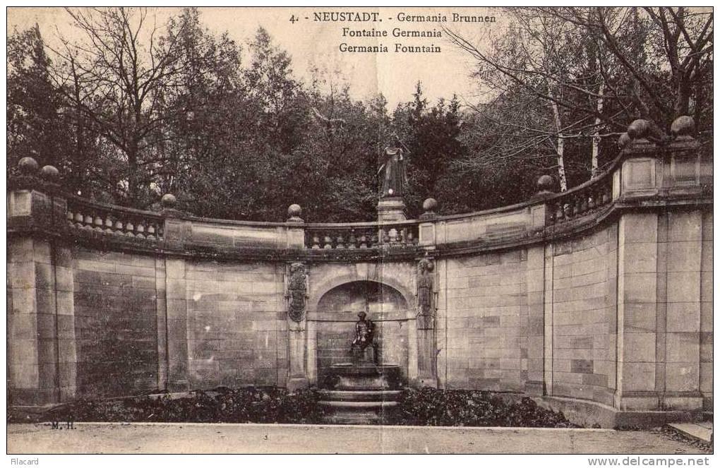 13104   Germania,    Neustadt,  Germania  Brunnen,  VGSB  1923 - Neustadt / Orla