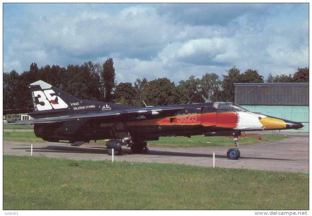 MIG 23BN CZECH AIR FORCE.....AEREO... ..AEROPORTO..AEROPORT...AIRPORT - 1946-....: Era Moderna