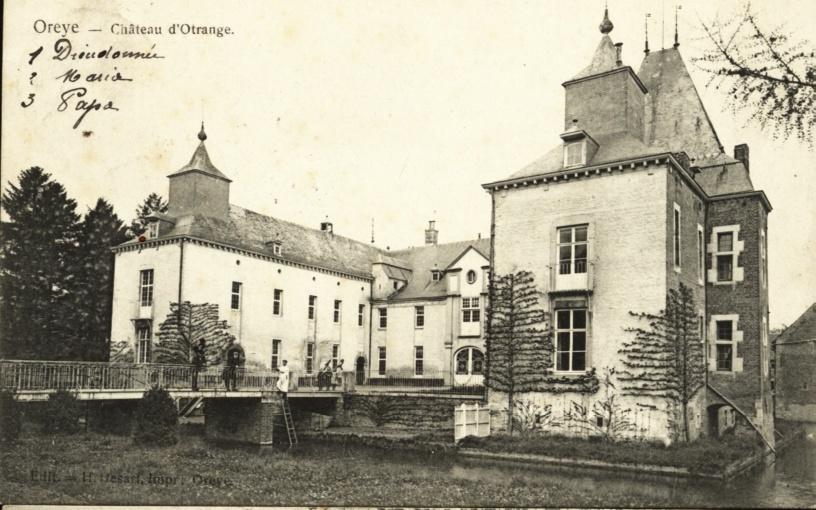 Oreye - Château D´Otrange- 1910 - Oreye