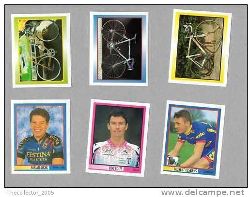 LOTTO#7 FIGURINE MERLIN 78°GIRO ITALIA CICLISTI-CICLISMO-CYCLIST S-CYCLING-CYCLISME-CICLIS TAS - Panini