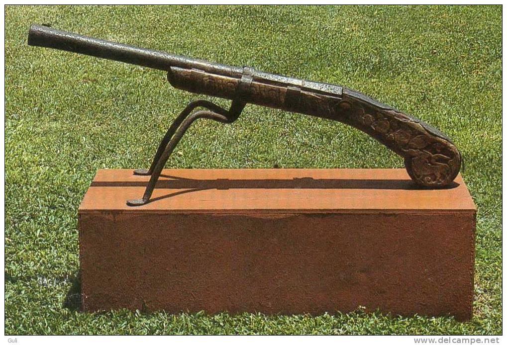 Asie Sri Lanka (Ceylon-Ceylan) Kandyan Musket 18 Th Century Dutch Period Museum Pettah (Mousquet Arme à Feu Canon Long) - Sri Lanka (Ceylon)