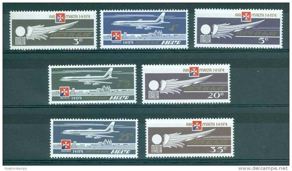 Malta: 1974   Air     MH - Malta