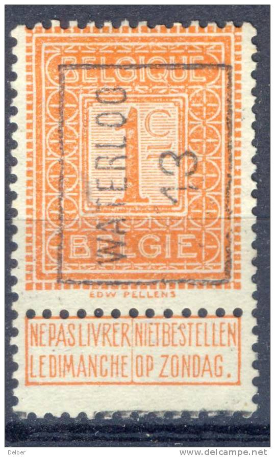 _Cm959: N° 2194 - A - WATERLOO 13 - Roller Precancels 1910-19