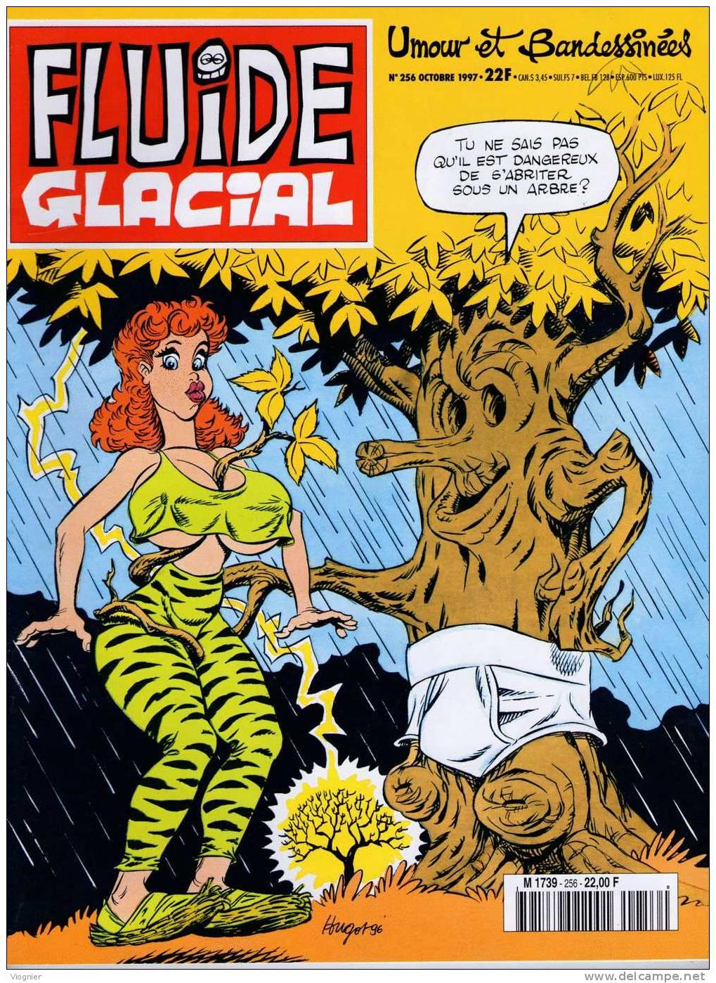 FLUIDE GLACIAL   N°  256            Septembre  1997 - Fluide Glacial
