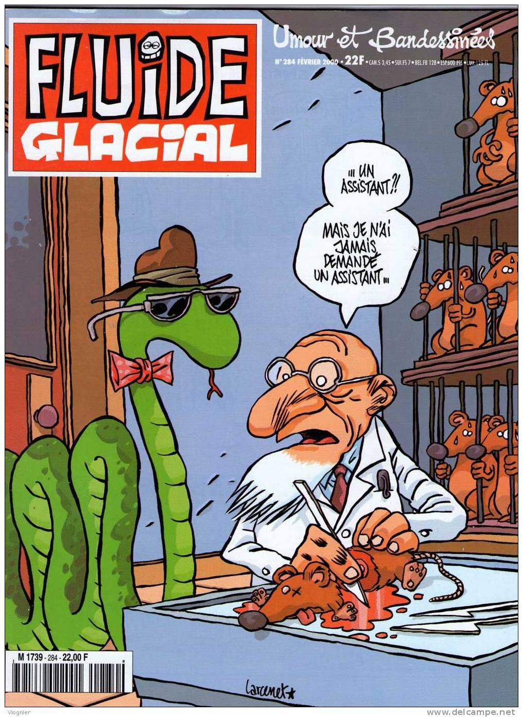 FLUIDE GLACIAL   N°  284            Janvier   2000 - Fluide Glacial