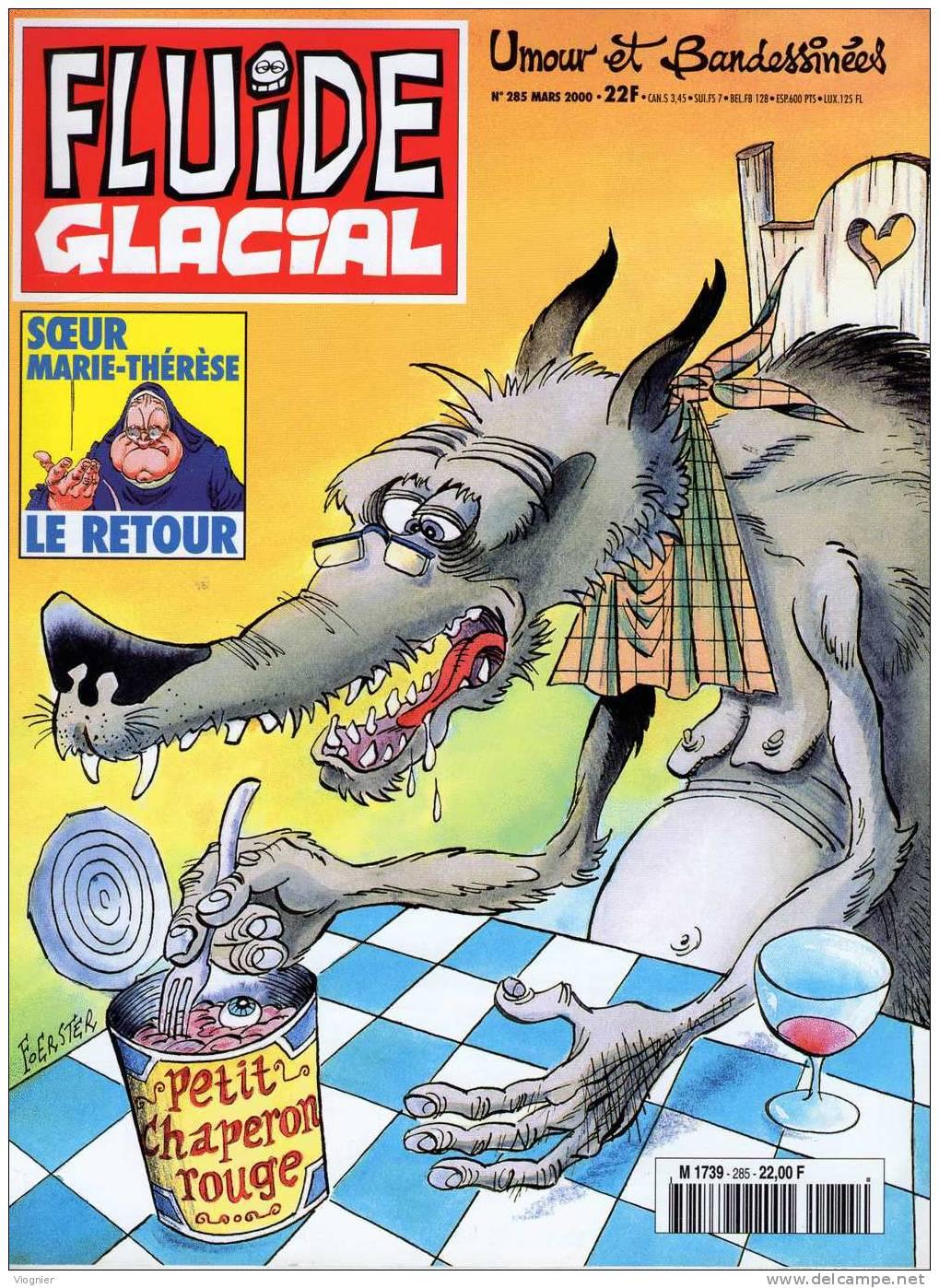 FLUIDE GLACIAL   N°  285            Février  2000 - Fluide Glacial