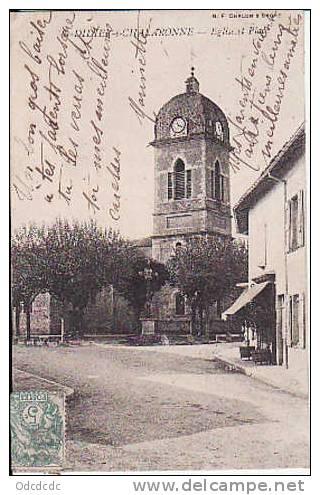 DIDIER S CHALARONNE Eglise Et Place - France