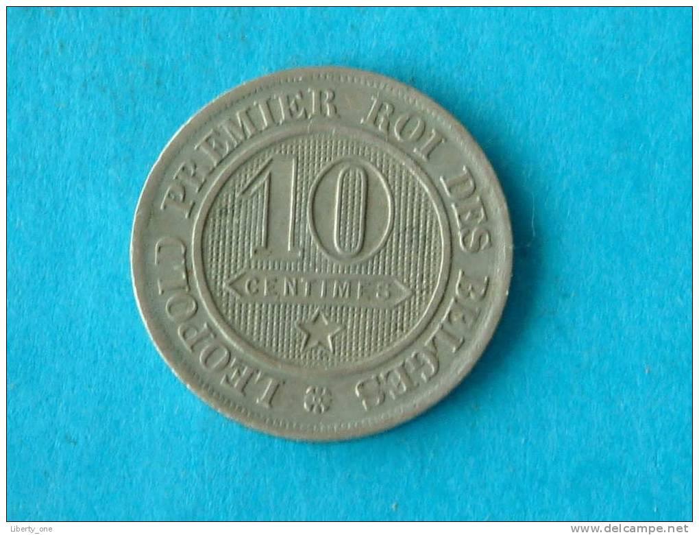 1862 FR - 10 Cent / MORIN 134 ( For Grade, Please See Photo ) ! - 1831-1865: Léopold I
