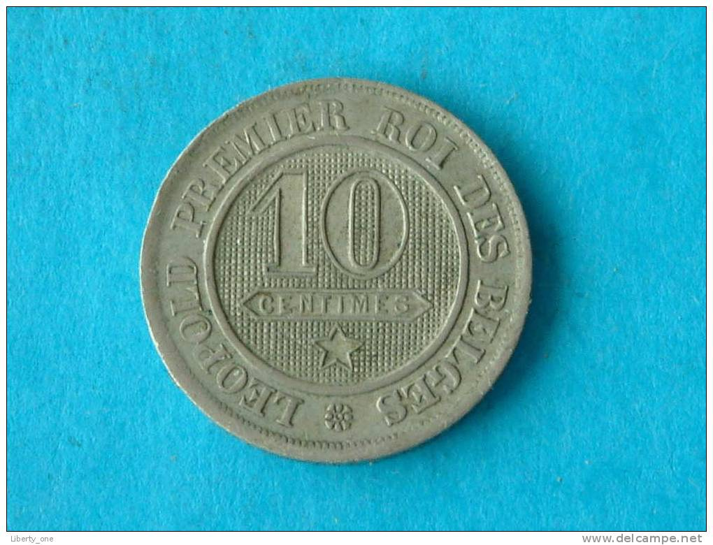 1863 FR - 10 Cent / MORIN 135 ( For Grade, Please See Photo ) ! - 1831-1865: Léopold I