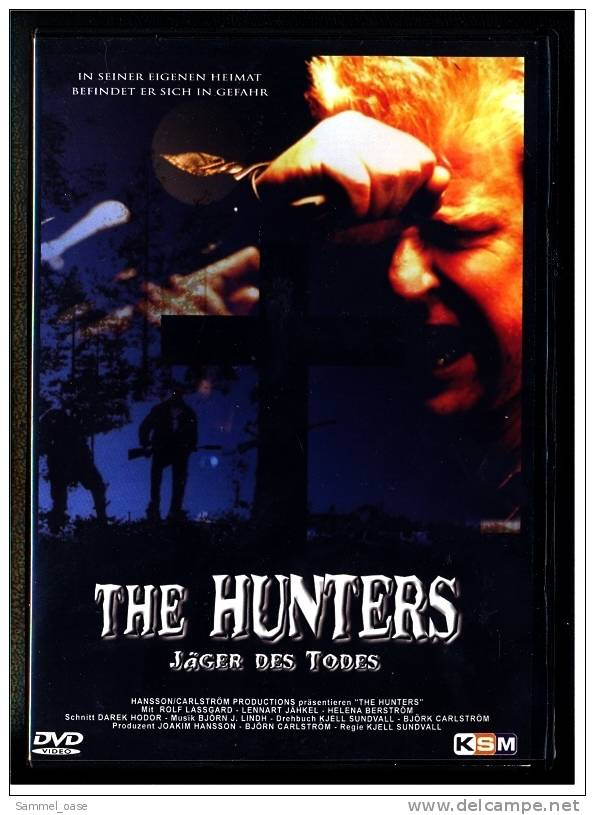 DVD  ,  The Hunters - Jäger Des Todes  ,  Mit : Rolf Lassgard , Lennart Jähkel , Jarmo Mäkinen , Tomas Norström - Policiers