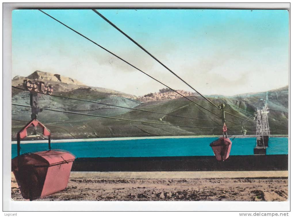 CAMPOFRANCO (CL) PANORAMA VISTO DALLO STAMBILIMENTO MONTECATINI 1963 - Caltanissetta