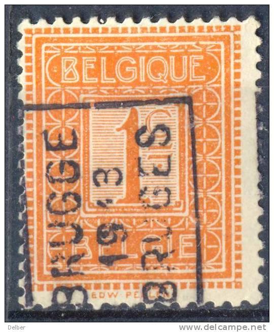 _Cb763: N° 2132 -tab : - A - BRUGGE 1913 BRUGES - Precancels