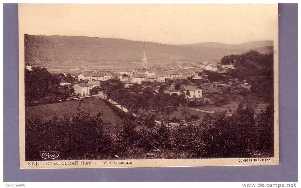 39 - Saint-Julien Sur Suran - Vue Générale - Combier - France