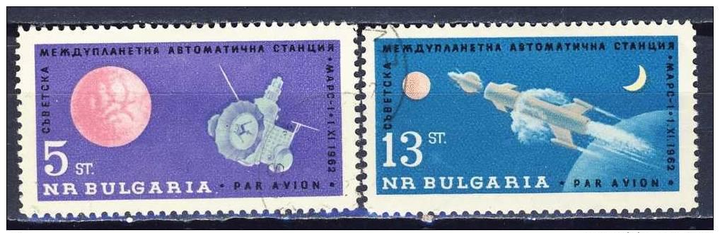 Bulgarie  Cat Y&T    Nr LP/PA 96-97         Obliteré - Gestempeld - Used   (o) - Space