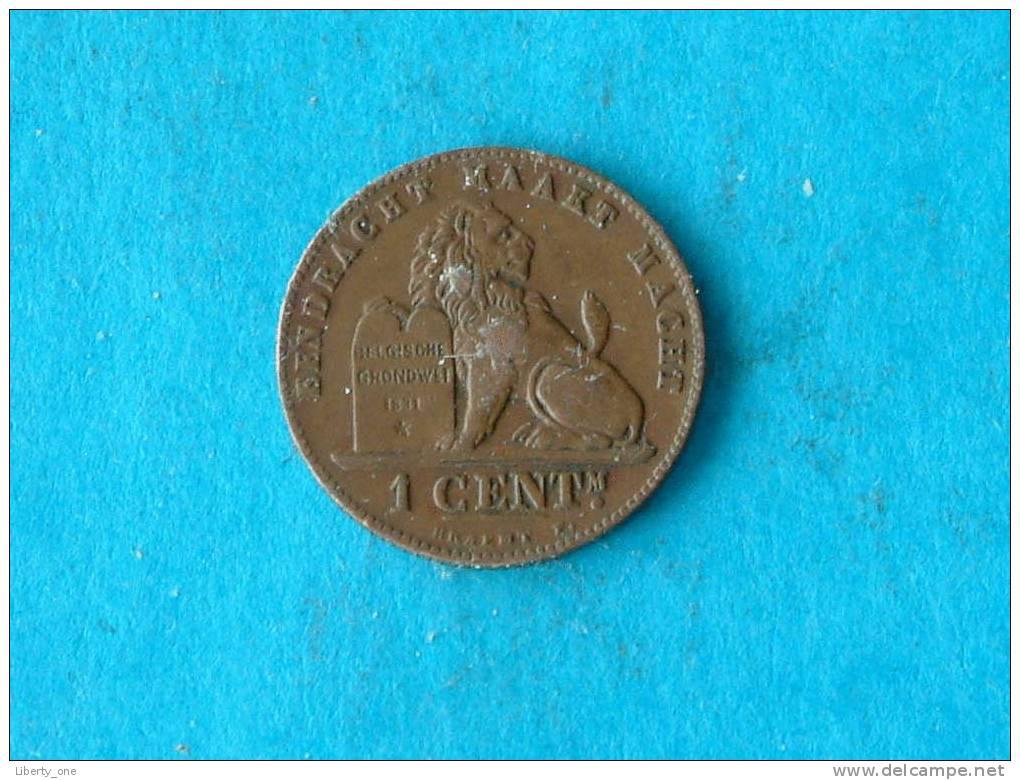 1894 VL - 1 Centiem ( Morin 227 - For Grade, Please See Photo ) ! - 1865-1909: Leopold II