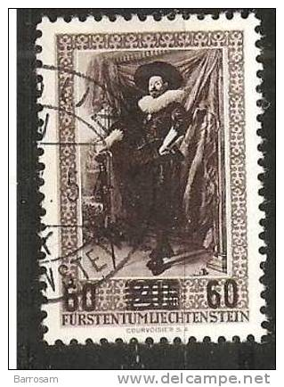 Liechtenstein1954: Michel327used - Liechtenstein