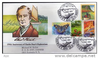 Entier Postal Australien Obliteration  Whale / Baleine De Hervey Bay. (Queensland) - Balene