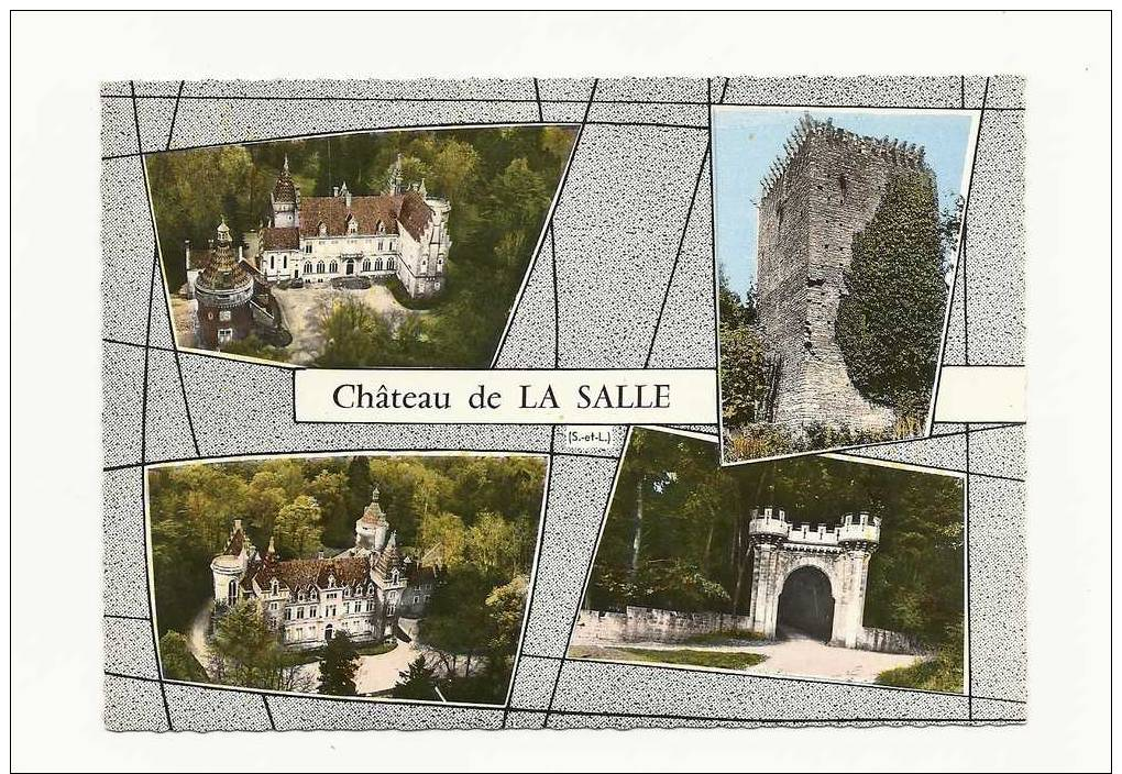 74   Chateau De LA SALLE - Francia