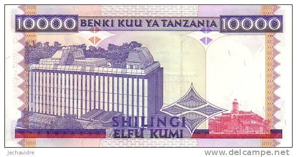 TANZANIE   10 000 Shilingi   Non Daté (1997)   Pick 33     ***** BILLET  NEUF ***** - Tanzanie