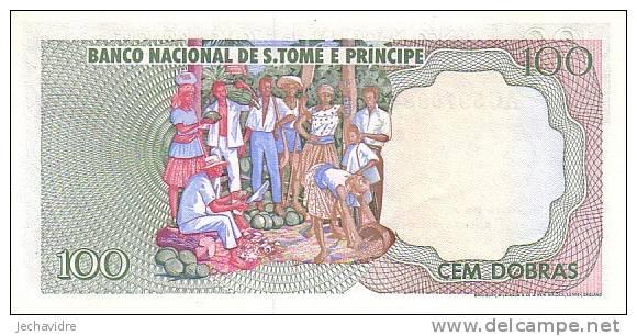 SAO TOME ET PRINCIPE   100 Dobras   Daté Du 30-09-1982   Pick 57     ***** BILLET  NEUF ***** - Sao Tomé Et Principe