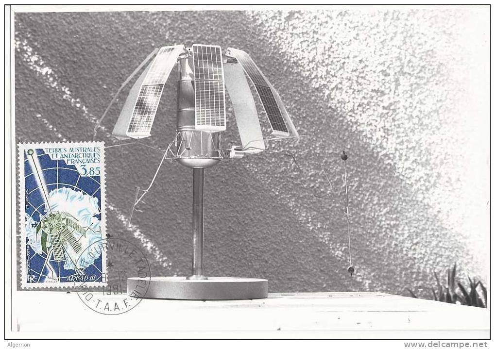 1806 -  Arcad III Sur Photo  18.12.1981 - FDC