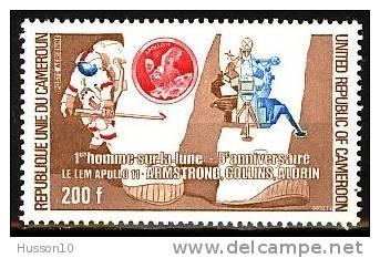 CAMEROUN  L´HOMME SUR LA LUNE YT PA 239 NEUF** - Kamerun (1960-...)