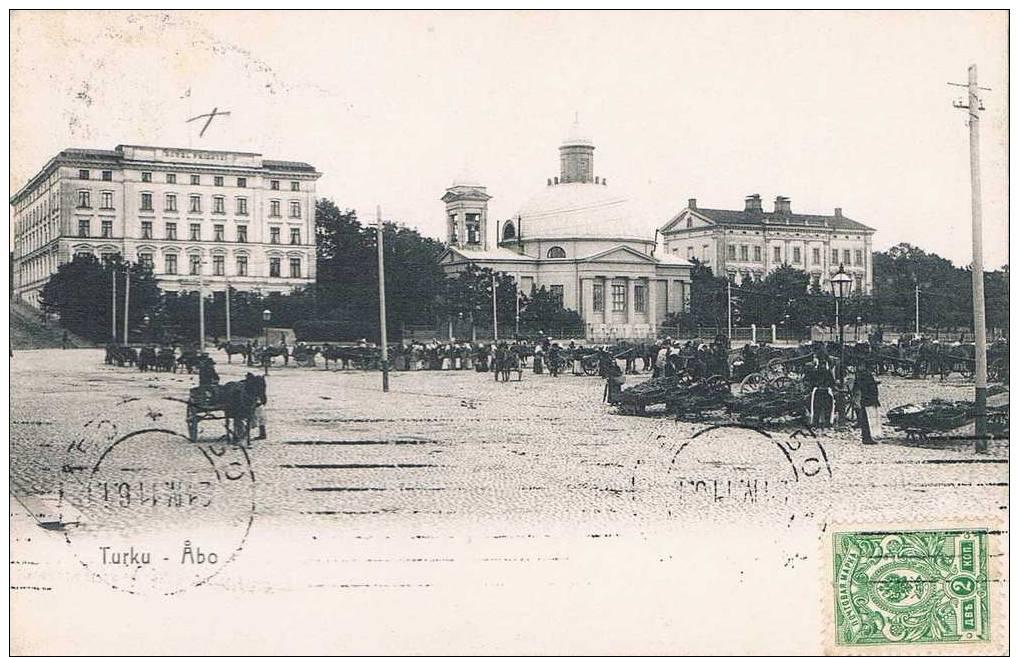 Carte Postale Ancienne - RUSSIE/FINLANDE - Turku/ Abö - Rumania