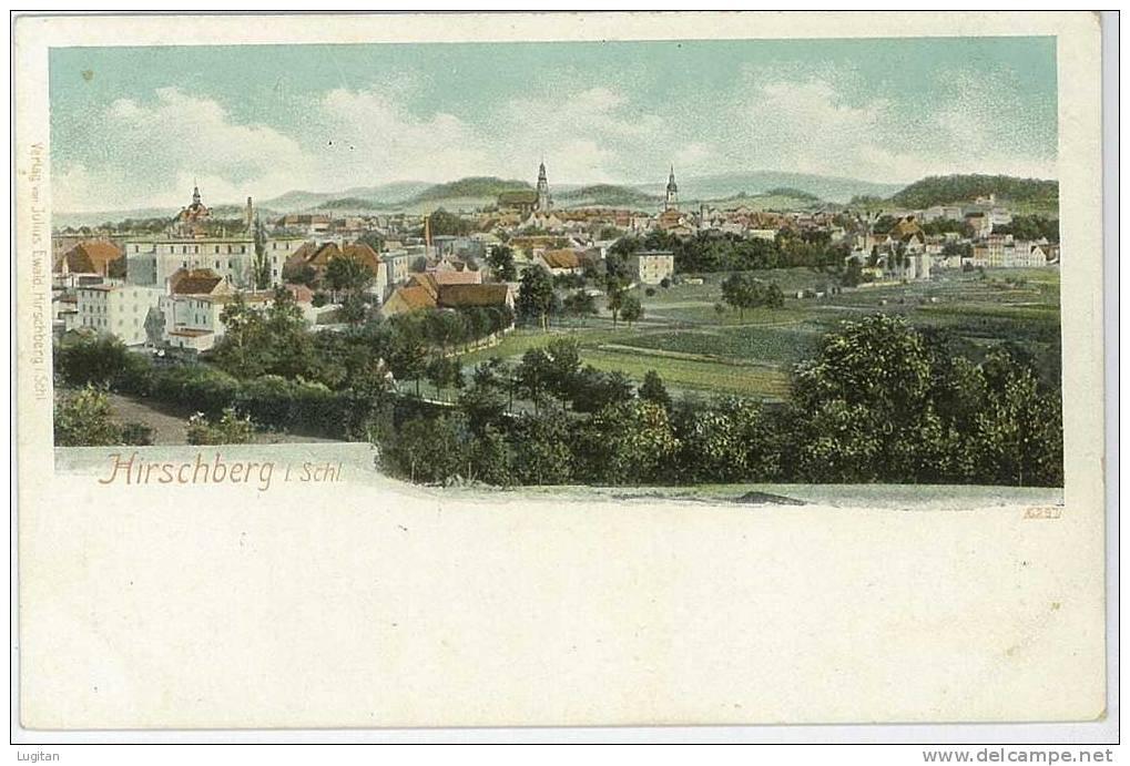 Cartolina - Hirschberg An Der Bergstraße - Comune Del Circondario Rurale Rhein PERIODO LIBERTY - Schlesien
