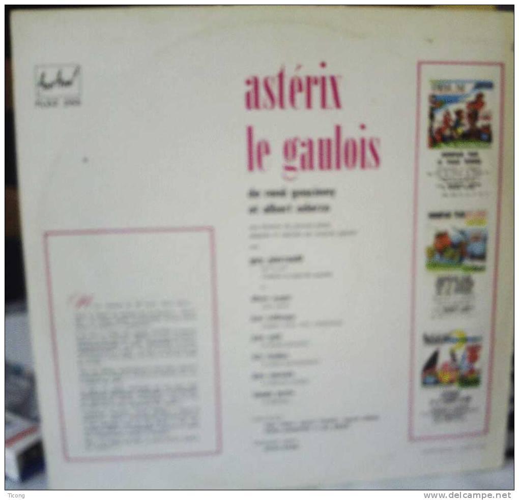 DISQUE 33 TOUR ASTERIX LE GAULOIS DE GOSCINNY ET UDERZO - DISQUE D AVENTURE DU JOURNAL PILOTE ( VOIR LES SCANNERS ) - Disques & CD