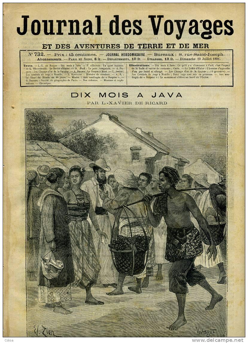 Les Champs D'or De La Guyane Anglaise 1891 - Books, Magazines, Comics
